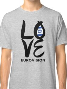 Love Eurovision [Israel] Classic T-Shirt