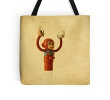 monkey toy with cymbals Tote Bag