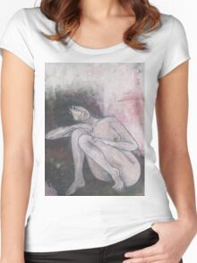 B IV Women's Fitted Scoop T-Shirt