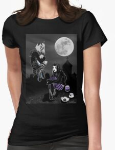 Goth tea Womens Fitted T-Shirt