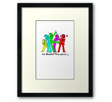 TPoH; colourful personality Framed Print