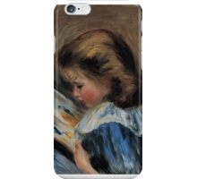 Auguste Renoir - The Picture Book . 1895 iPhone Case/Skin