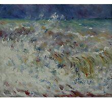 Auguste Renoir - The Wave 1882 Impressionism  Landscape Photographic Print