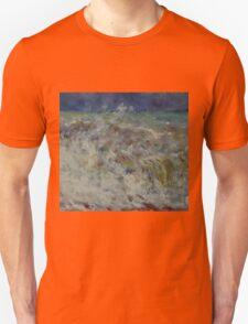 Auguste Renoir - The Wave 1882 Impressionism  Landscape Unisex T-Shirt