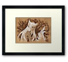 Foxy elf Framed Print