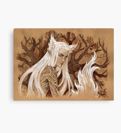 Foxy elf Canvas Print