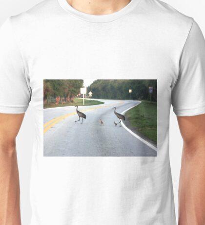 SANDHILL CRANES Unisex T-Shirt