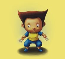 Mini Wolverine Fan Art Baby Tee