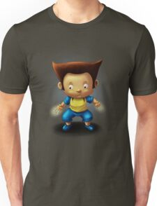 Mini Wolverine Fan Art Unisex T-Shirt