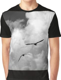 seagull fly in the sky Graphic T-Shirt