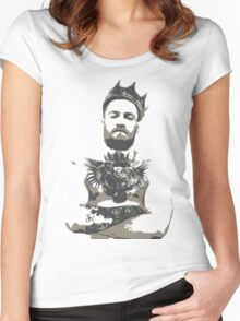 Conor Mcgregor, King Conor Women's Fitted Scoop T-Shirt