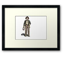 We Named the Dog Indiana Framed Print