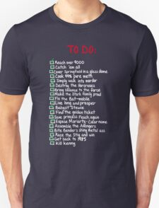 To-Do T-Shirt