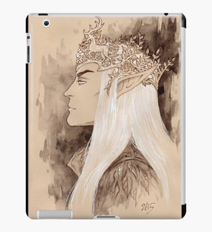 Stag crown iPad Case/Skin