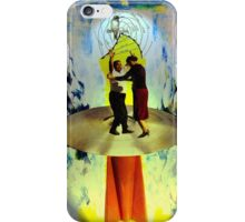 Rudy and Esther Ascend to the Mothership iPhone Case/Skin