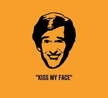 "Alan Partridge ""Kiss my Face"" Quote Unisex T-Shirt"