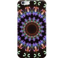 Fireworks kaleidoscope mandala 1 iPhone Case/Skin