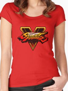 Street Fighter V Women's Fitted Scoop T-Shirt
