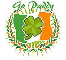 Go Paddy Photographic Print