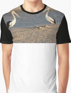 Pelican duo Graphic T-Shirt
