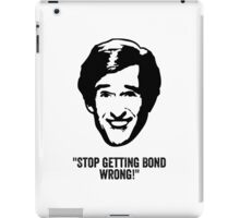 "Alan Partridge ""Bond"" Quote iPad Case/Skin"