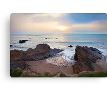 North Cornish Coast, near Treknow Canvas Print