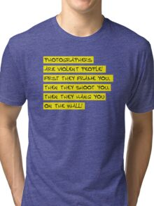 dear photographers! Tri-blend T-Shirt