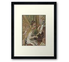 Auguste Renoir - Young Girls at the Piano 1892 Framed Print