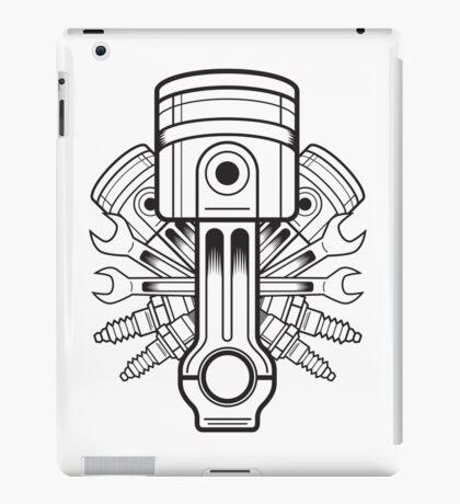 Piston lable iPad Case/Skin