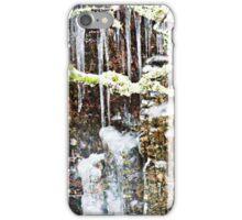 Rain freeze thaw and freeze iPhone Case/Skin