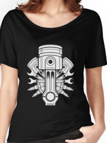 Piston lable Women's Relaxed Fit T-Shirt
