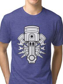 Piston lable Tri-blend T-Shirt