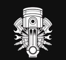 Piston lable Unisex T-Shirt