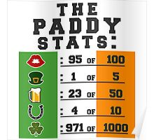 Paddy stats Poster