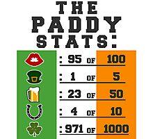 Paddy stats Photographic Print