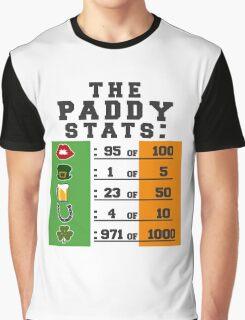 Paddy stats Graphic T-Shirt