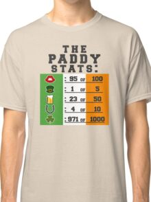Paddy stats Classic T-Shirt