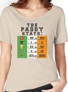 Paddy stats Women's Relaxed Fit T-Shirt
