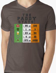 Paddy stats Mens V-Neck T-Shirt