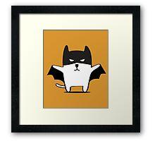 Batman Cat Framed Print