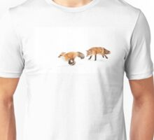 Chasing Foxes - Red Fox Unisex T-Shirt