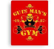 Guts Man's Gym Canvas Print