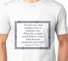 Good Lord What Madness - Shakespeare Unisex T-Shirt