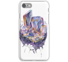 A purple crystal iPhone Case/Skin