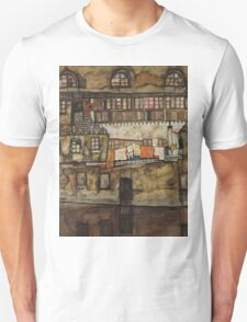 Egon Schiele - House Wall on the River 1915 T-Shirt