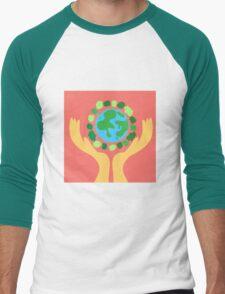 protect the planet Men's Baseball ¾ T-Shirt