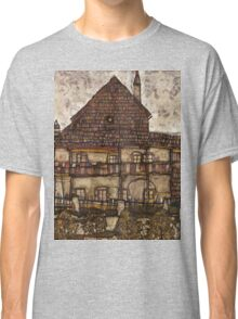 Egon Schiele - House with Shingle Roof Old House II 1915 Classic T-Shirt