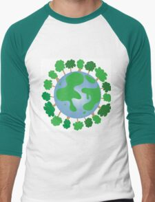 planet earth Men's Baseball ¾ T-Shirt