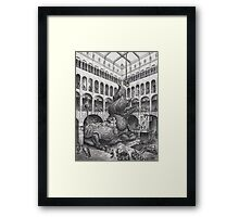 THE BEAST MUST DIE! Framed Print