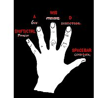 Gamer hand Photographic Print